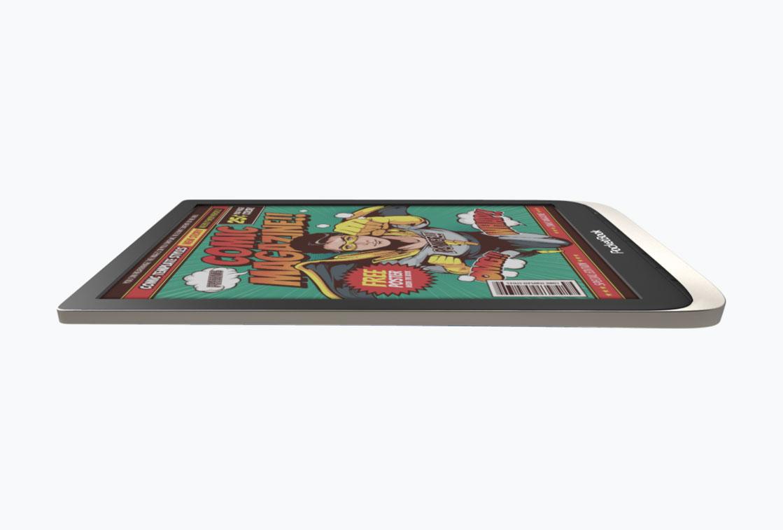 pocketbook inkpad color czytnik e-booków z dużym ekranem wyświetlającym kolory