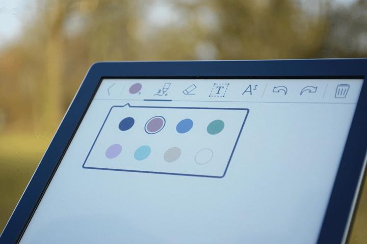 InkPad Color kolorowanki dostępne kolory