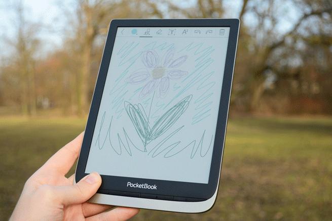 PocketBook InkPad Color notowanie w kolorze na ekranie E iNk