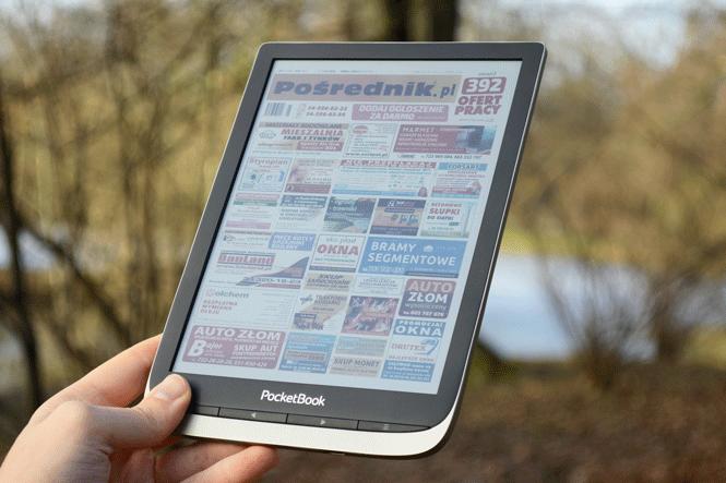 Czytnik e-booków z kolorowym ekranem duży ekran