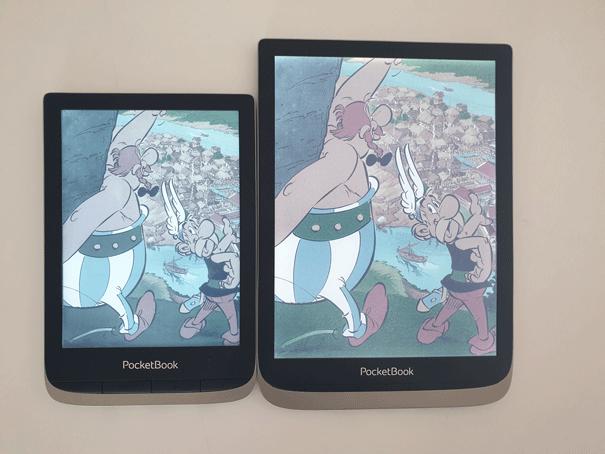 E Ink New Kaleido porównanie kolorowych ekranów w czytnikach e-booków