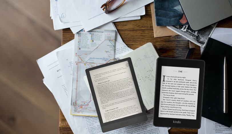 Porównanie Kindle Paperwhite 4 z Onyx Boox Poke 3
