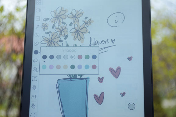 Onyx Boox Nova 3 Color notatnik umożliwiający notowanie w kolorze