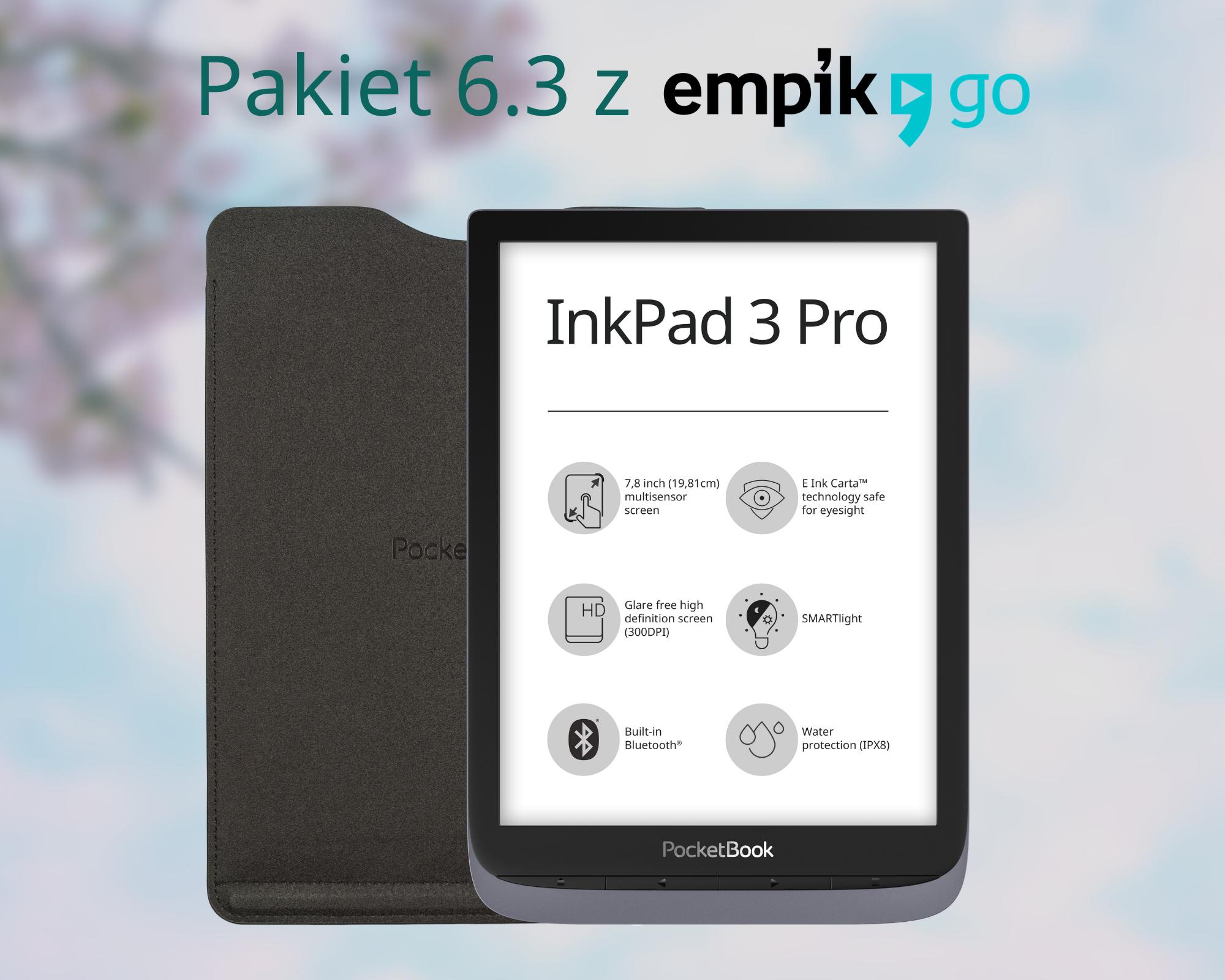 PocketBook InkPad 3 Pro nowa aktualizacja 2021