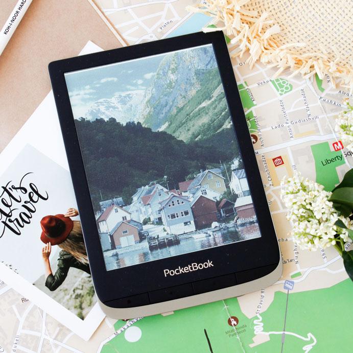 PocketBoo Color 6-calowy czytnik przykład kolorowych obrazów.
