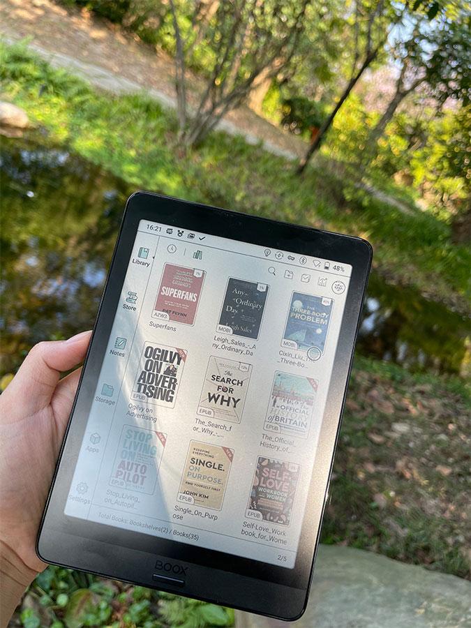 Onyx Boox Nova 3 Color zaawansowany czytnik e-booków