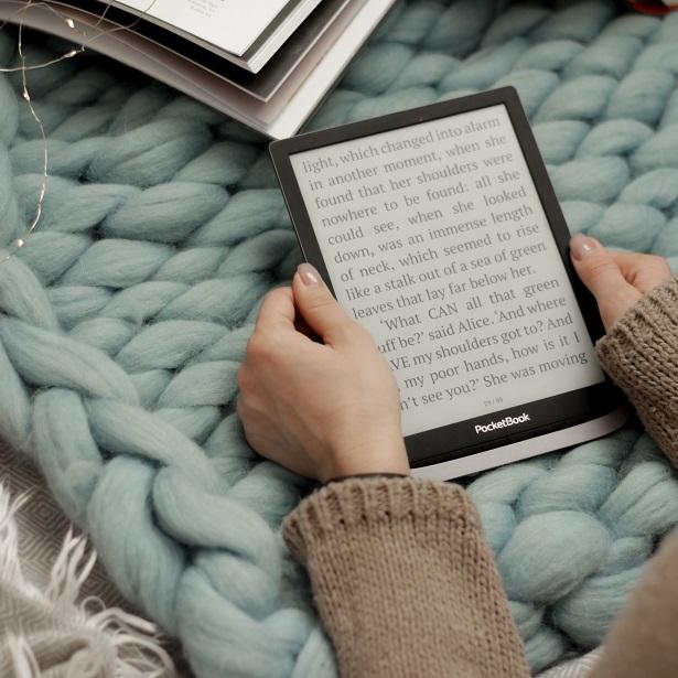 PocketBook Inkpad 3 czytnik e-booków z 8-calowym ekranem..