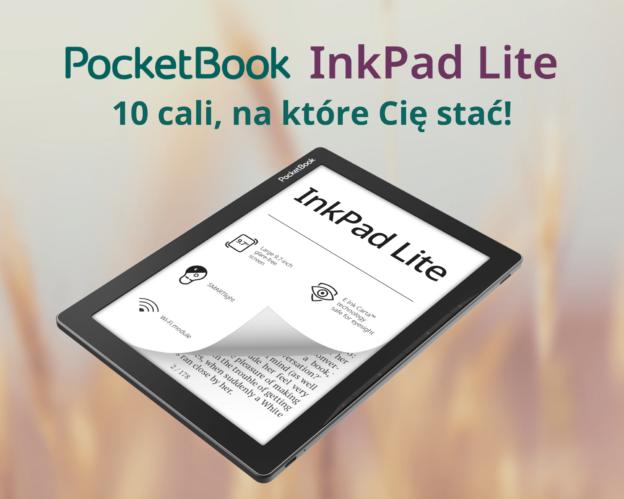 Nowy 10-calowy czytnik PocketBook InkPad Lite
