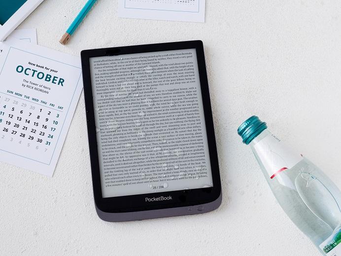 PocketBook InkPad 3 Pro 8-calowy czytnik e-booków z podświetleniem SmartLight, wodoodporny.