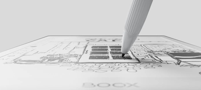 Notowanie na tablecie E-ink Onyx Boox Nova Air
