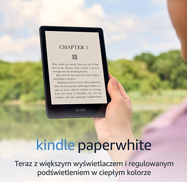 Najnowszy czytnik Kindle Paperwhite 5
