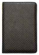 Etui pocketbook 623/624/614/626 Dots - Czarno-żółte