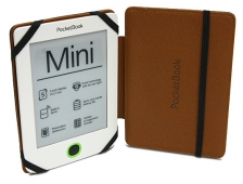 Etui Pocketbook Mini brązowo-czarne