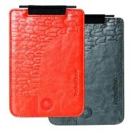Osłona ekranu Pocketbook Mini pomarańczowo - czarna