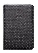 Etui do Pocketbook 614/625/626 Touch Czarne w szare kropki