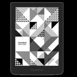 PocketBook 630 Sense ciemnoszary z etui Kenzo czarnym