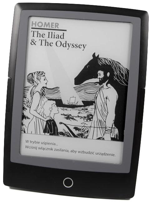 Homer Iliada i Odyseja na czytniku ebook