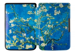 PocketBook Touch Lux 3 Czarny + etui Art Blue