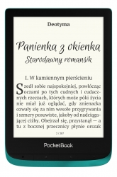 PocketBook Touch Lux 4 (627) Szmaragdowy