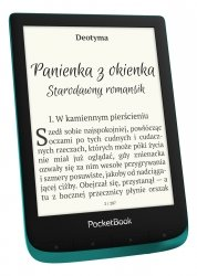 PocketBook Touch Lux 4 Szmaragdowy + etui Shell New Czarne