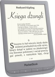 Czytnik PocketBook Touch Lux 4 (627) Srebrny