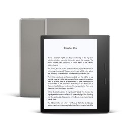 Kindle Oasis 3 - 32GB WiFi + 4G gratis Grafit