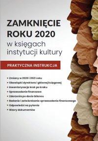 Zamknięcie roku w księgach instytucji kultury - Katarzyna Trzpioła
