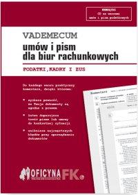 Vademecum umów i pism dla biur rachunkowych 2016 - Opracowanie zbiorowe