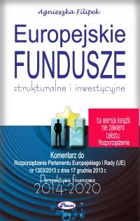 Europejskie Fundusze strukturalne i inwestycyjne - Agnieszka Filipek