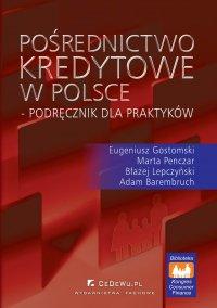 Pośrednictwo kredytowe w Polsce – podręcznik dla praktyków - Eugeniusz Gostomski