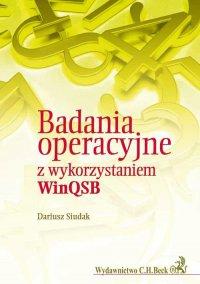 Badania operacyjne z wykorzytsaniem WinQSB - Dariusz Siudak