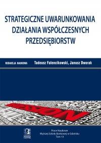 Strategiczne uwarunkowania działania współczesnych przedsiębiorstw. Tom 13 - Tadeusz Falencikowski (red.)
