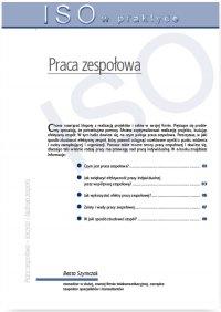 Praca zespołowa – tworzenie, formy działania, korzyści i budowa zespołu - Beata Szyczak