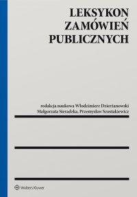 Leksykon zamówień publicznych - Włodzimierz Dzierżanowski