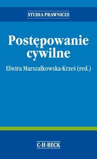 Postępowanie cywilne - Elwira Marszałkowska-Krześ