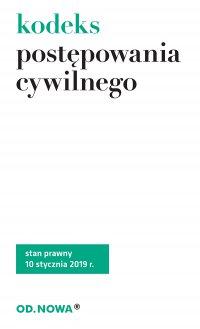 Kodeks Postępowania Cywilnego - Opracowanie zbiorowe , Sejm RP