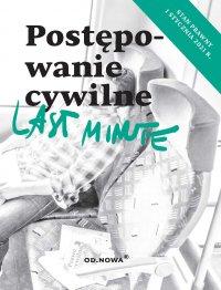 Last Minute. Postępowanie cywilne. Maj 2021 - Bogusław Gąszcz