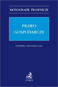 Prawo gospodarcze - Dominika Wetoszka