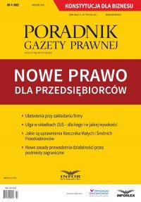 Nowe prawo dla przedsiębiorców - Robert Rykowski