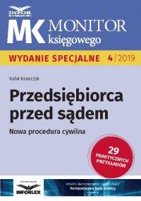 Przedsiębiorca przed sądem .Nowa procedura cywilna - Rafał Krawczyk