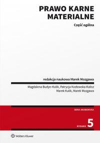 Prawo karne materialne. Część ogólna - Marek Mozgawa