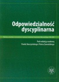Odpowiedzialność dyscyplinarna - Paweł Skuczyński
