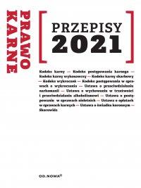 Prawo karne Przepisy 2021 - Agnieszka Kaszok
