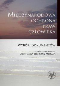 Międzynarodowa ochrona praw człowieka - Agnieszka Bieńczyk-Missala