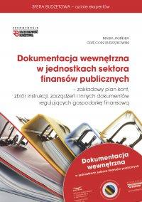 Dokumentacja wewnętrzna w jednostkach sektora finansów publicznych 2015 - Maria Jasińska