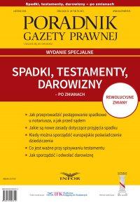 Poradnik Gazety Prawnej. Wydanie specjalne 2015/11 - Opracowanie zbiorowe