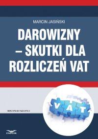Darowizny – skutki dla rozliczeń VAT - Marcin Jasiński