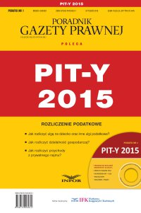 PIT-y 2015 - Grzegorz Ziółkowski