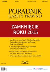 PGP 2015/12 Zamknięcie roku 2015 - Opracowanie zbiorowe