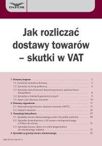 Jak rozliczać dostawy towarów – skutki w VAT - Marcin Jasiński